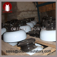 ANSI 55-4 porcelain pin insulators,pin type ceramic insulator